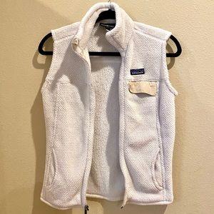 Patagonia white vest